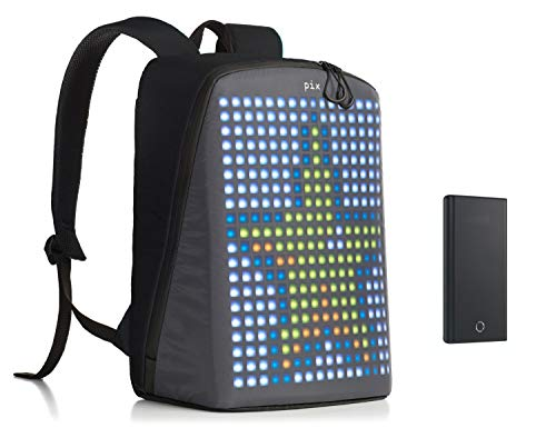 Read About Pix Backpack with Programmable Screen Smart Digital