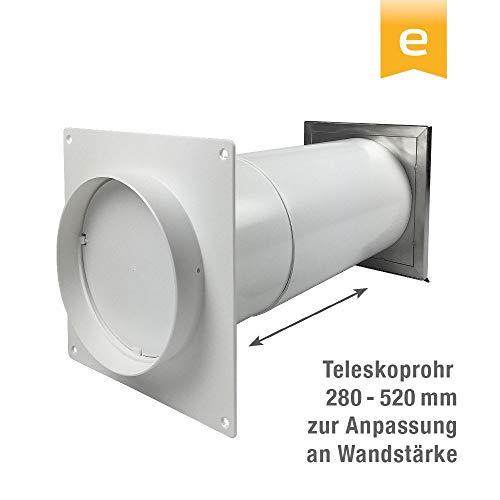 Aexit 8 Baustoffe St/ück 15mm Rund Edelstahl L/üftungsgitter Bel/üftungsgitter T/üren L/üftung Gitter