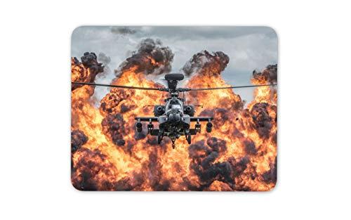 Apache Kampfhubschrauber Mauspad Pad - Flugzeug Pilot Männer Computer-Geschenk # 12474