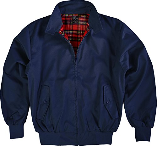 Original GearUp® Harrington Jacke English Style in 12 verschiedenen Designs wählbar Farbe Navy Größe 5XL