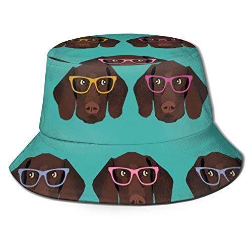 Hip Pop Gorras de Pescadores para Mujeres Hombres Adolescentes, Sombrero de Boonie Ajustado de ala Ancha Gorra para el Sol