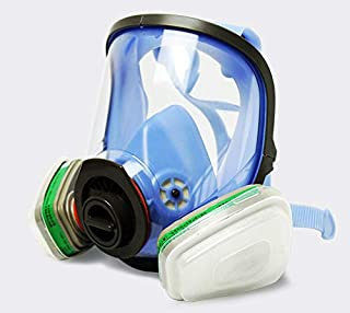 Gas Mask,Virus, Flu,Anti-Dust Gas Spray Paint Dual Respirator Industrial Chemical Mask for 3M 6200 Gas Spray Painting Protection Respirator