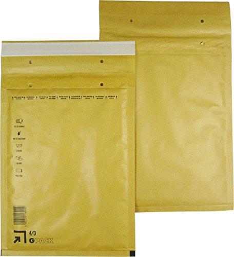 25 braune Luftpolsterumschläge Luftpolstertaschen Versandtaschen 4/D 200x275 mm