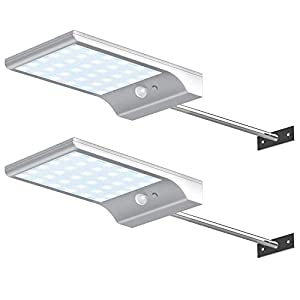 InnoGear Solar outdoor Gutter Lights