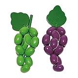 Legler 7040 - Weintrauben, Lebensmittel aus Holz, 12-er Set