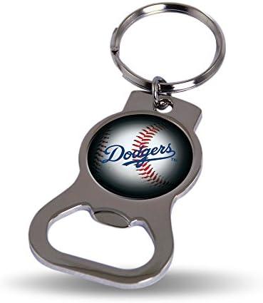 Rico Industries La Dodgers Bottle Opener Keytag product image