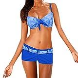 Bfmyxgs Stilvolle Frauen Mädchen Sommer Sexy Krawatte Färben Bademode Beachwear Mode Siamese...