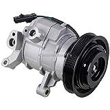 AC Compressor & A/C Clutch For Dodge Ram Dakota Durango Jeep Grand Cherokee Commander 3.7L 4.7L - BuyAutoParts 60-02329NA NEW