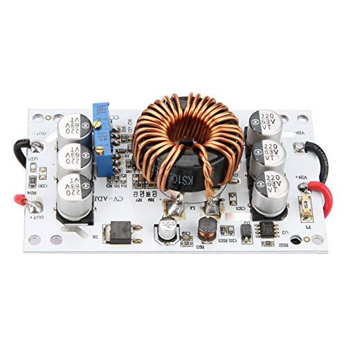 Shexton Fuente de alimentación elevadora CC-CC, 600W CC-CC Corriente de Voltaje Constante Módulo de Fuente de alimentación elevadora Ajustable Controlador LED