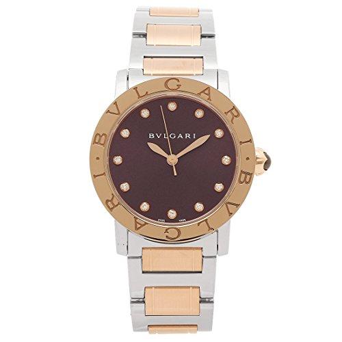 [ブルガリ] 腕時計 レディース BVLGARI BBL33C7SPG 12 パープル ローズゴールド シルバー [並行輸入品]