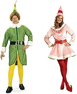buddy the elf costumes for adults