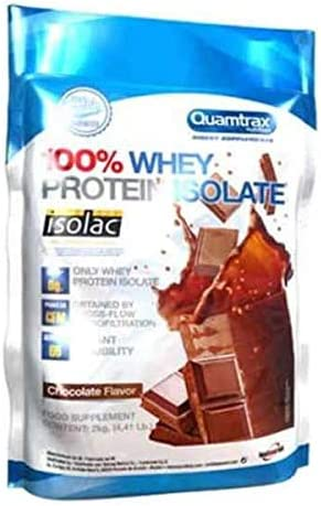 Quamtrax Direct Whey Protein Isolate - 2 Kg Strawberry