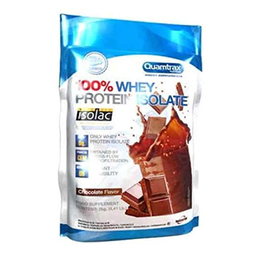 Quamtrax Direct Whey Protein Isolate - 2kg Strawberry