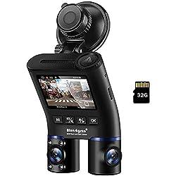 professional Dual camera car DVR, Blueskysea B2W 1080P HD dual rotating lens, DVR …