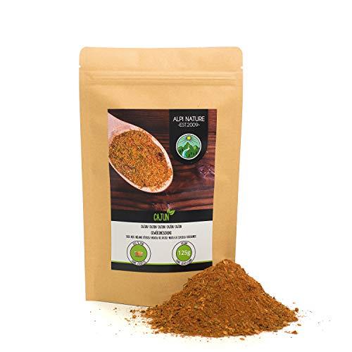 Cajún (125g), Mezcla de especias cajún, mezcla de especias típicas de la India, empaque resellable