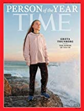 Time Magazine (December 23, 2019/December 30, 2019) Person of the Year Greta Thunberg Cover