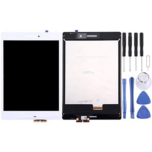un known Reparación renovación por Teléfono Pantalla LCD y Montaje Completo de digitalizador para ASUS ZENPAD S 8.0 / Z580 (Cable de 28 mm). (Color : White)