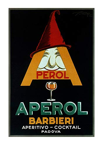 Spiffing Prints Perol Aperol Barbieri 1924 Giclée - Mediano - Mate - Sin marco