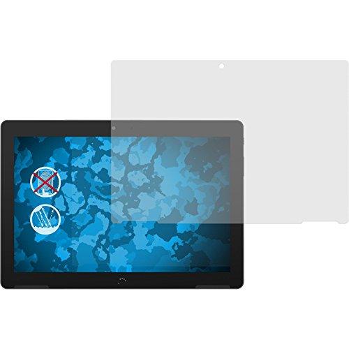 PhoneNatic 4er-Pack Bildschirmschutzfolien matt kompatibel mit BQ Aquaris M10