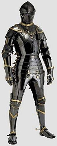 Medieval Knight Suit of Armor Combat Full Body Armour Wearable Handicraft Replica