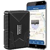 Tracker GPS Impermeabile,Tracciatore di Posizione GPS Tracker per Auto 120 Giorni Standby Localizzatore GPS per Auto Moto Magnete Potente e Batteria da 10000mAh Antifurto Auto Moto Bicicletta
