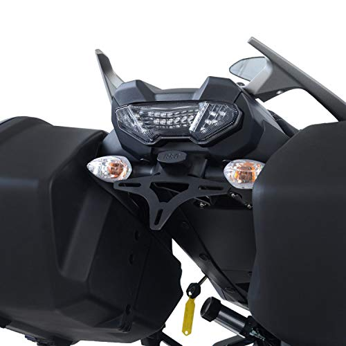 R&G License Plate Bracket Tail Tidy LP0257BK Yamaha Tracer 900 GT/MT-09 Tracer 2018 > Compatible with ORIGINAL Bags