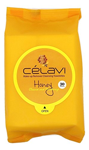 Celavi Makeup Remover Cleansing Wipes Removing Towelettes 2 Packs - 60...