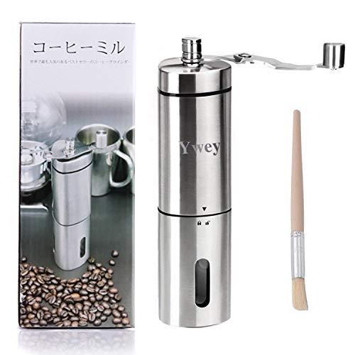 手挽き コーヒーミル 手動 コーヒーメーカー セラミックコーヒーミル 3~4人分 40g
