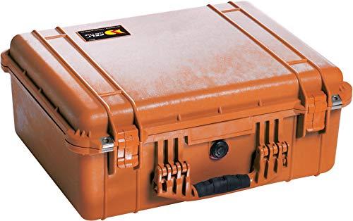 Peli 1550 - Maleta Protectora sin Espuma, Color Naranja