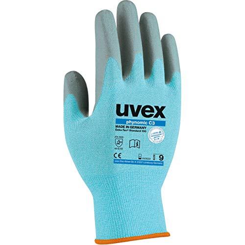 Uvex Phynomic C3 Schnittschutzhandschuhe - 1 Paar Schnittfestig Arbeitshandschuhe 06/XS