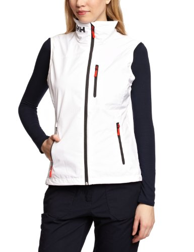 Helly Hansen Crew Gilet Imperméable Femme White FR : M (Taille Fabricant : M)
