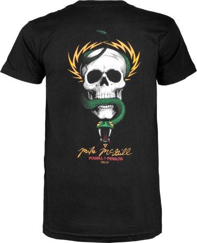 Powell-Peralta McGill Skull and Snake T-Shirt, Black, Large