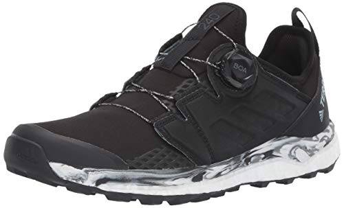 adidas outdoor Terrex Agravic Boa Trail Running Shoe - Women's Black/Non-Dyed/Carbon, 9.0