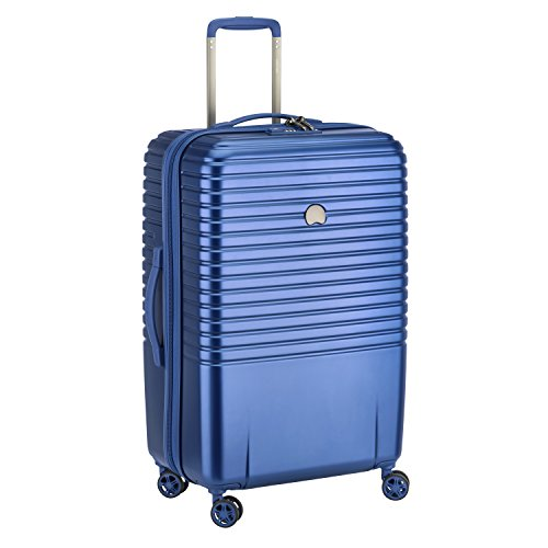 Delsey Paris Caumartin Plus Valise, 71 Litres, Bleu