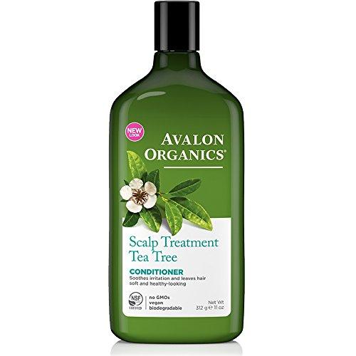 Avalon Organics Scalp Treatment Tea Tree Conditioner - 11 Fl Oz