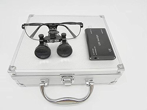 Metal Frame 3.5X Columbus Mall 420mm excellence Binocular Medical Loupe DY-104+ Surgical