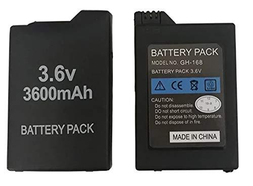 Desconocido Bateria para Sony PSP 1000 1001 1003 1004 100X Fat Gorda 3600 mAh 3.6v Modelo PSP-110