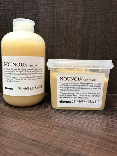 Nounou Shampoo 250ml E Máscara 250ml Davines
