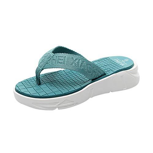Xmiral Infradito Pantofole Uomo Ciabatte da Spiaggia Pantofole da Bagno 42 EU Blu