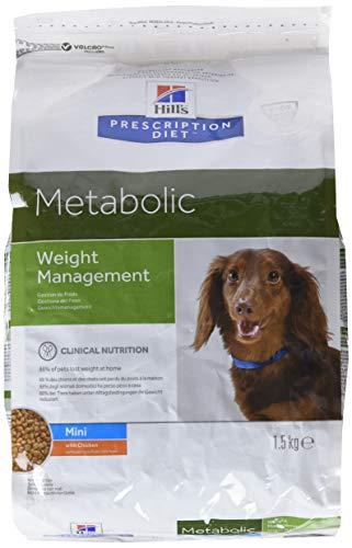 Hill's Verschreibung Diet, Diätfutter für Hunde - Metabolic Mini - 2 x 1.5 KG