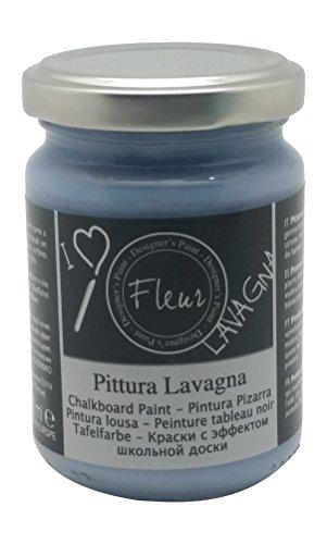 Fleur Designer S Paint Fleur Colore Effetto Lavagna - 130 Ml - F63 Copenaghen Blue