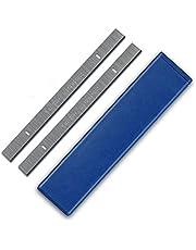 "Nologo WJW-MUGONGJU, 2pcs 8"" 210 mm Espesor HSS cepilladora Cuchillas 210x16.5x1.5mm Madera Cuchillo cepilladora for carpintería Erbauer Einhell Power Parts Tool"