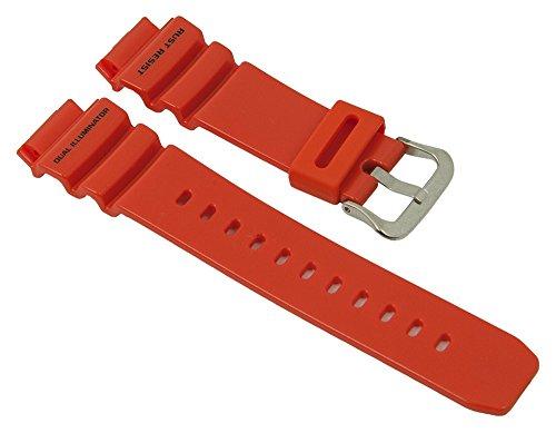 Casio G-Shock ricambio Orologio da polso bracciale resina band Arancione per G 910010311635