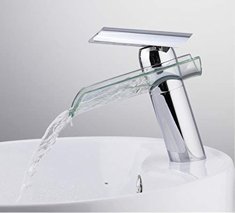 SEBAS Home Armaturen Becken Wasserhahn Waterful Auslauf Waschtischarmaturen Wasserhahn Einhand-Wasserhahn Waschbecken Wasserhahn