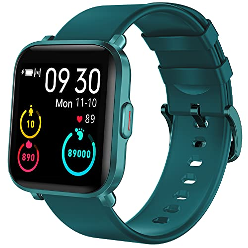 KUNGIX Smartwatch, Reloj Inteligente Mujer Hombre Niños 18 Modos Deportivos, Fitness Tracker...
