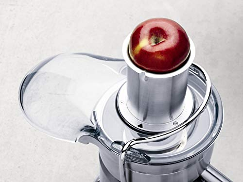The Breville 800JEXL can juice tough fruits and vegetables