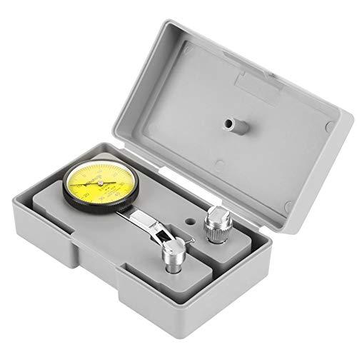Nauwkeurigheid 0.01 mm Lever Dial Test-indicator meter kit Gage gereedschap met grijze tas Gauge meter schaal