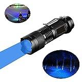 Blaue Taschenlampe