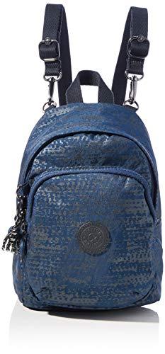 Kipling Women's Delia Compact Backpacks, Blue Eclipse Pr, 18x23.5x13 Centimeters (B x H x...