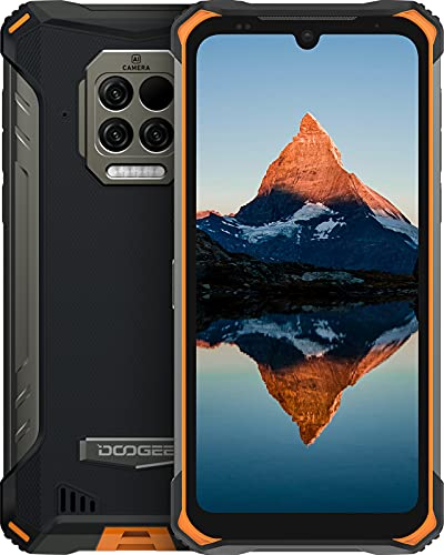 Doogee S86 Pro (2021) Outdoor Smartphone Ohne Vertrag, 8 GB+128GB, 4G Dual SIM Outdoor Handy Wasserdichter, 8500mAh Akku, 16 MP Quad-Kamera, Android 10 Smartphone, 6.1-Zoll, NFC/GPS/Face/Fingerprint ID